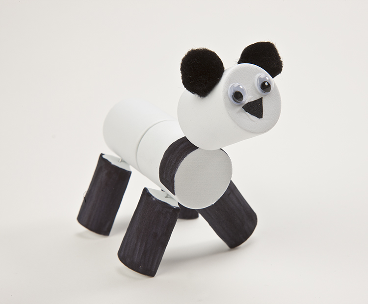 Completed panda