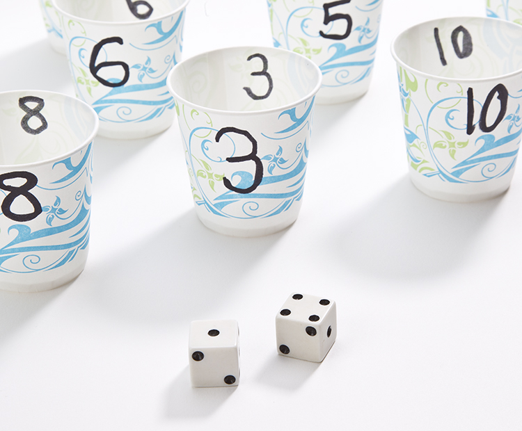 Cups and dice