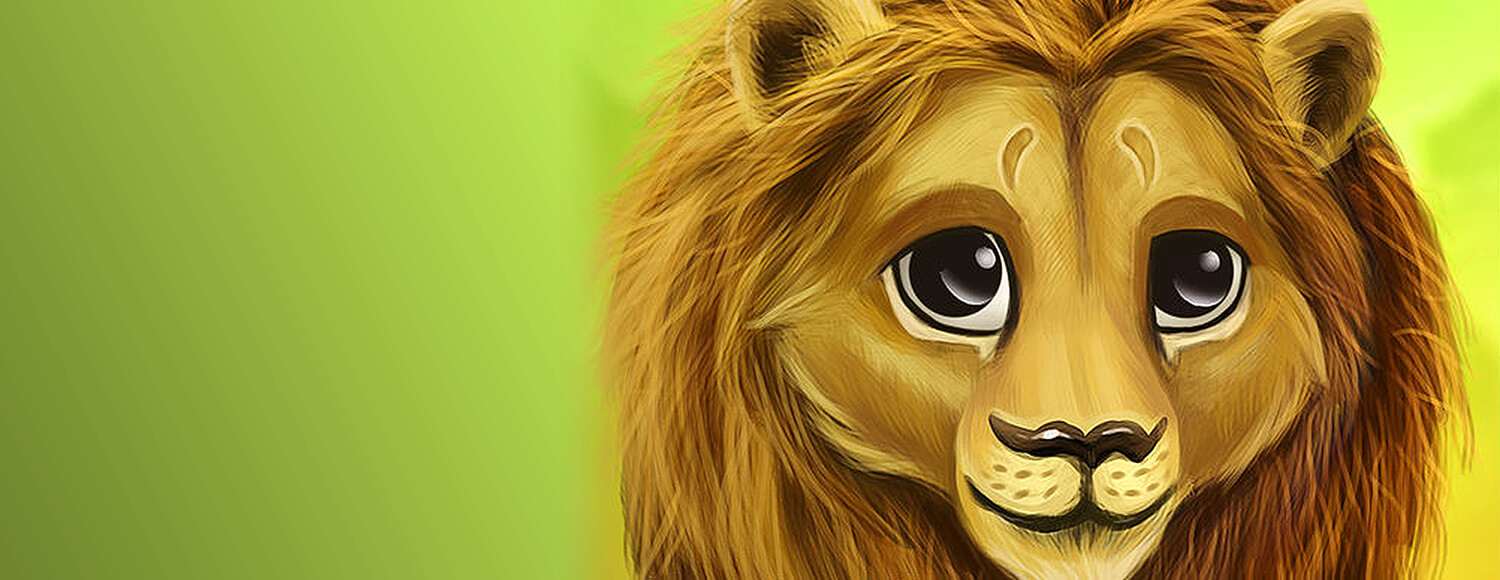 Lion cub character from the Living Legends game.
