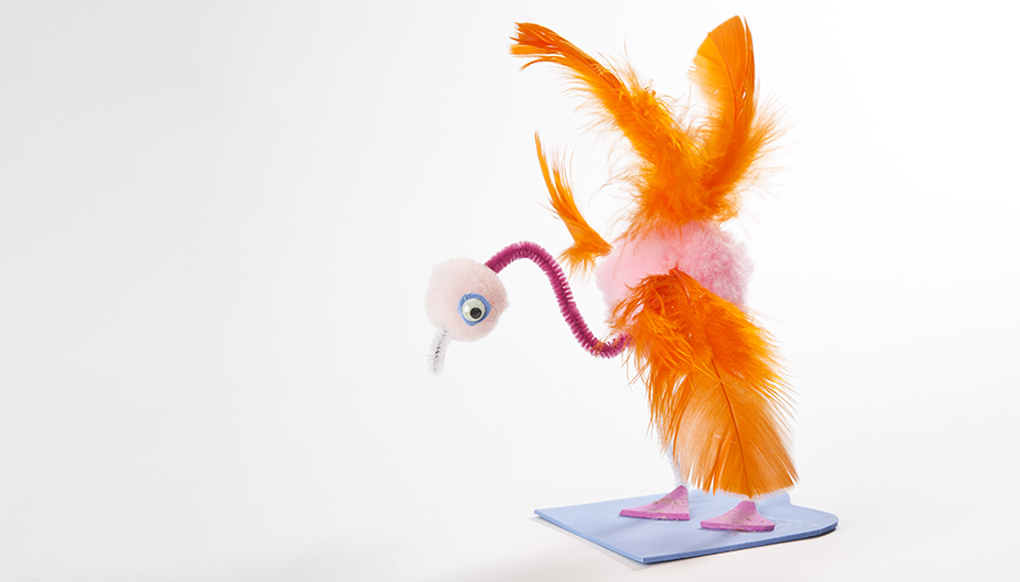 Flexi flamingo friend