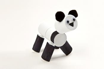 Panda Pal Finished Activity